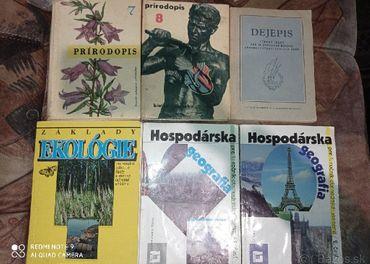 Prírodopis, geografia, ekológia, dejepis