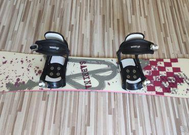 Snowboard Sabrina, 141 cm