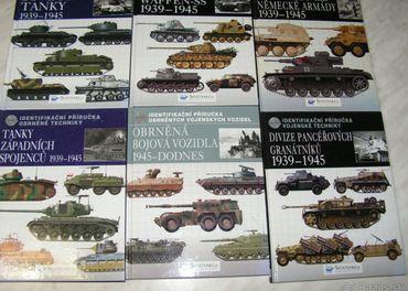 Predam knihy z vojnovov technikou