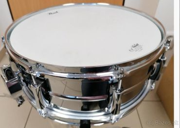 Pearl Sensitone Custom alloy steel snare 14x5,5