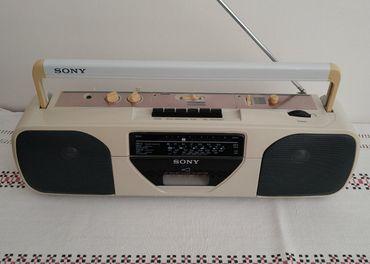 Sony rádiomagnetofón stereo