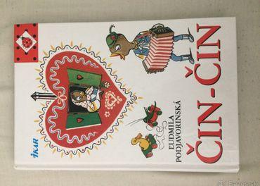 Kniha pre deti s názvom Čin-čin