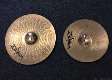 ZILDJIAN ZBT  CRASH 16, RIDE 20