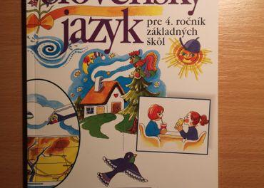 Slovenský jazyk pre 4. roč. ZŠ učebnica