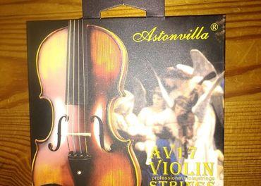 Sada husľových strún, krásny Vianočný darček pre muzikanta