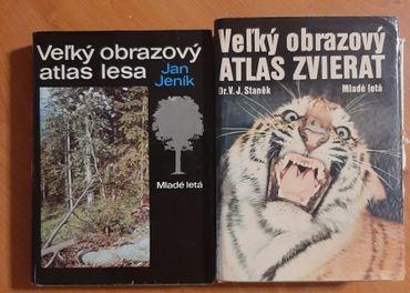 Velky obrazovy atlas lesa aj zvierat