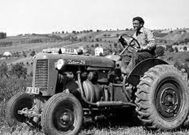 Historický traktor