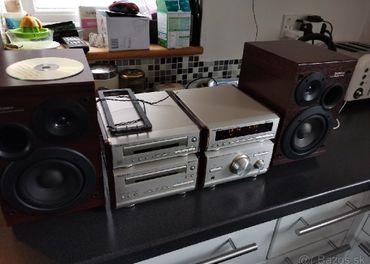 Hi-Fi  Technics HD 501 Tuner Deck Zosilovac CD player
