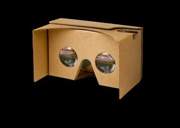 3d okuliare cardboard ešte nevybalené
