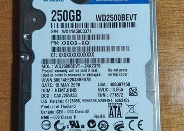 predám 2,5inch HDD SATA 250GB do notebooku