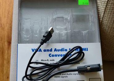 VGA to HDMI kabel