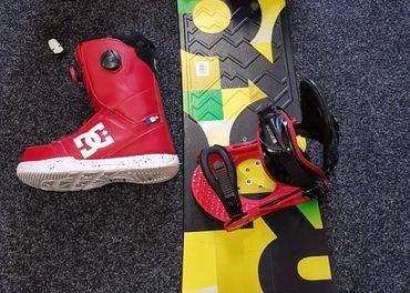 Snowboard burton komplet 147cm doska viazanie a boty