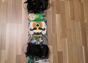 Snowboard salomon 158 cm