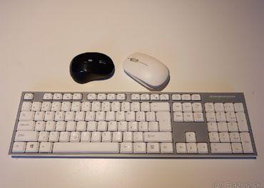 klávesnica a myšky, bez donglov