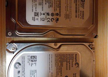 Predam 3,5 palcove HDD 2x250Gb spolu 500Gb