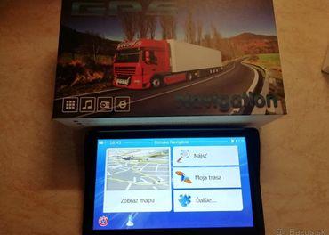 GPS navigacia,kamion,9 palcov,8 GB/256MB
