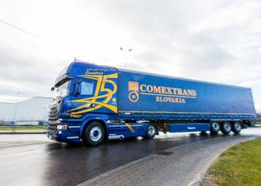 Hľadáme vodiča kamiónu na vnútroštátne prepravy - Kaufland