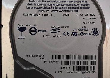 HDD MAXTOR 40GB E-IDE 133
