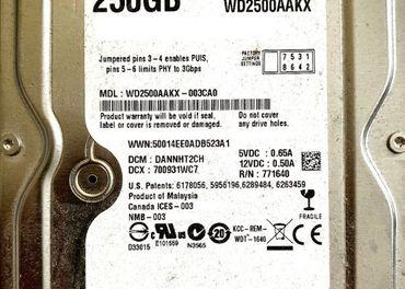 HDD WD 250GB Black 7200rpm SATAIII
