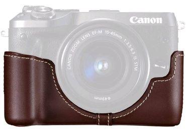 Kožené ochranné púzdro EH30-CJ pre Canon EOS M6