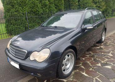 500 Eur ZLAVA  Mercedes C-Klasse 220 CDI Classic Stk 9/2021