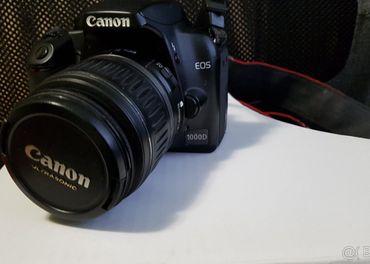 Canon EOS 1000D + obj. EF-S 18 - 55mm  3,5-5,6 II