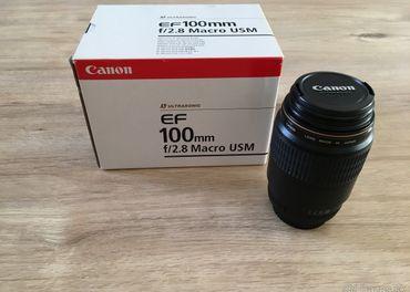 Canon objektiv 100mm macro - Rezervované