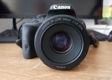 Canon 100D + 50mm f1.8 STM