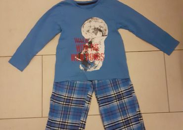 Chlapčenské pyžamko, top stav za 1e