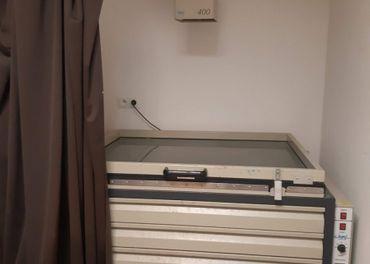 Vákuový rám  pre osvit  šso sušiacim boxom