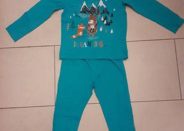 Bavlnené chlapčenské pyžamko s medvedíkom za 1e
