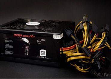 Predám nové  1stCOOL zdroje ATX 1600W MINER 1600, APFC, 90+