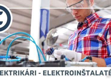 Elektrikári / Elektroinštalatéri - Inštalácia kabeláží pre n