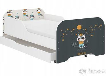 Detská posteľ so šuflíkom aj matracom Miki