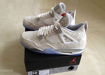 Jordan 4 retro Laser