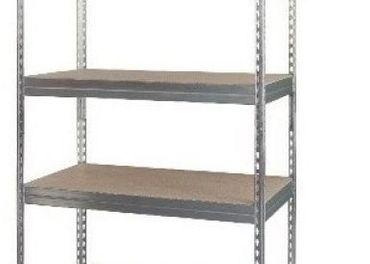 pozinkované regále - 180 a 200 cm, 5 a 6 políc,