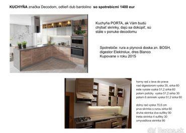 Kuchyňa DECODOM so spotrebičmi