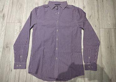 Pánska košeľa F&F kockovaná