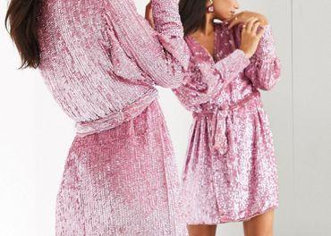 Asos dámske šaty z flitrami
