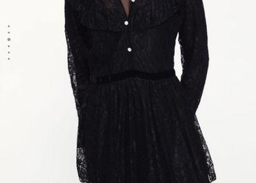 Zara čipkované šaty