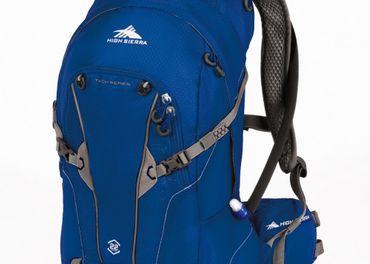 Znackovy batoh Hight Sierra, velkost 22l. Farba modra.