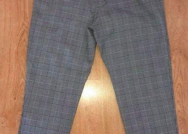 Kockovane nohavice, Zara, vel. M