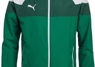 Puma Jacket nádhernej zelenej farby,oficialný produkt nový