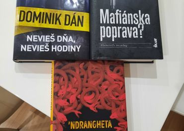 Knihy krimi, Dominik Dán, Nicola Gratteri, Peter Šloser