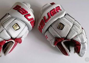 hokejové rukavice bauer veľkosť 13