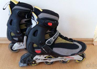 Pánske korčule Rollerblade Pro Alu 07