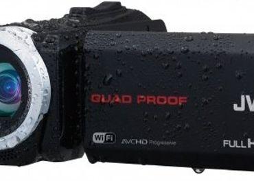 kamerovanie pod vodou - JVC GZ-RX110BE