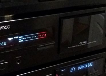 tape deck KENWOOD