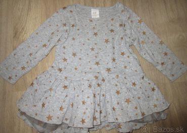 Šaty s hviezdičkami H&M