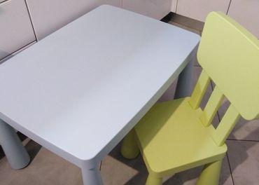 Stôl a stolička Mamut
